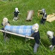 A concerned John had requested a stretcher and rug for his dear wife. ...