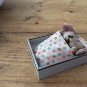 This box will make an excellent crib for the twins! I am going to make ...