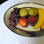 Still life interpretation of a Dol-Toi fruit platter - mixed fruits