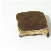 Tiniest Ladies Guild footstool.