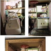 A scullery kitchen with all the necessities