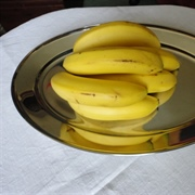 Still life interpretation of a Dol-Toi fruit platter - bananas
