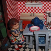 Bright kiddies kitchen.