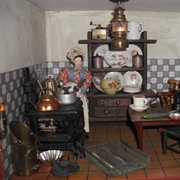 Victorian box back kitchen.