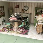 Cute kitchen in Miss Judy's House.