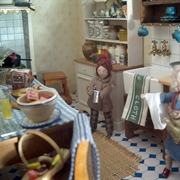 In the kitchen of the Vicarage, Harry was chatting to the new and ...