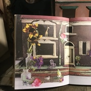 """ Miss Violet's House"" is the book that inspired this project."