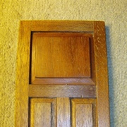 A really nice craftsman made front door  -  nice finish in natural ...
