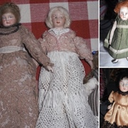 Some of the doll inhabitants.