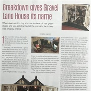 It was featured in Dolls House World magazine.