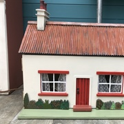 Here is the finished cottage. It came to me from Ireland and the ...
