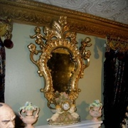Close-up of the mirror