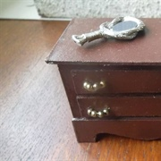 Card chest of drawers to fit in eaves of house