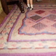 Stitched rug