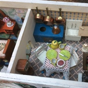I had a tatty card kitchen in a box for ages and it found a perfect ...