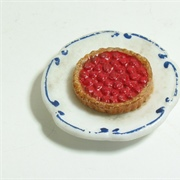 Bisque fruit tart.