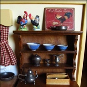 Hall's Lifetime Toys' Early American hutch