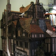 A view of the back of the main block plus added Grt Hall piece and ...