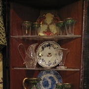 The large china cabinet
