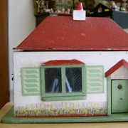 Bungalow, 1931. Dimensions: 16.5 inches [41.5 cm] wide, 8.5 inches ...
