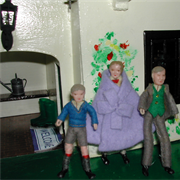 The residents of Triang Court, Edith, Henry and Tom have also noticed ...