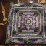 Small Cross Stitch Rug