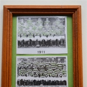 Glasgow Celtic teams from early 20th century...
