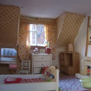 Miss Polly's old bedroom under the eaves...
