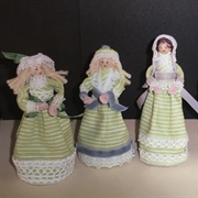 Peg Dolls by Brenda Brown. November 2013.