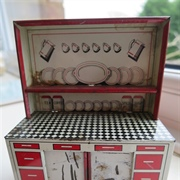 Brimtoy kitchen dresser with cream doors