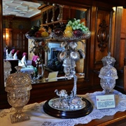 Lanhydrock - The Dining Room's oasis presentation piece and other ...