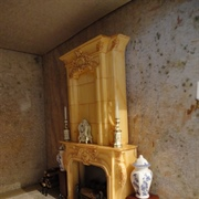 Ketterley's dining room fireplace.