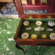 Ketterley's morning room curio table