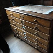 Lanhydrock - The Steward's Room document chest