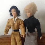 Two very tall Erna Meyer dolls