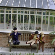 They finally reached the Great Conservatory again, and thankfully sit ...