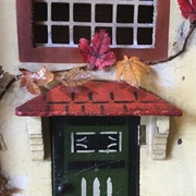 My new Wagner house - sweetest little front door!