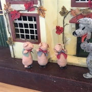 BAPS Characters from 'The Three Little Pigs'