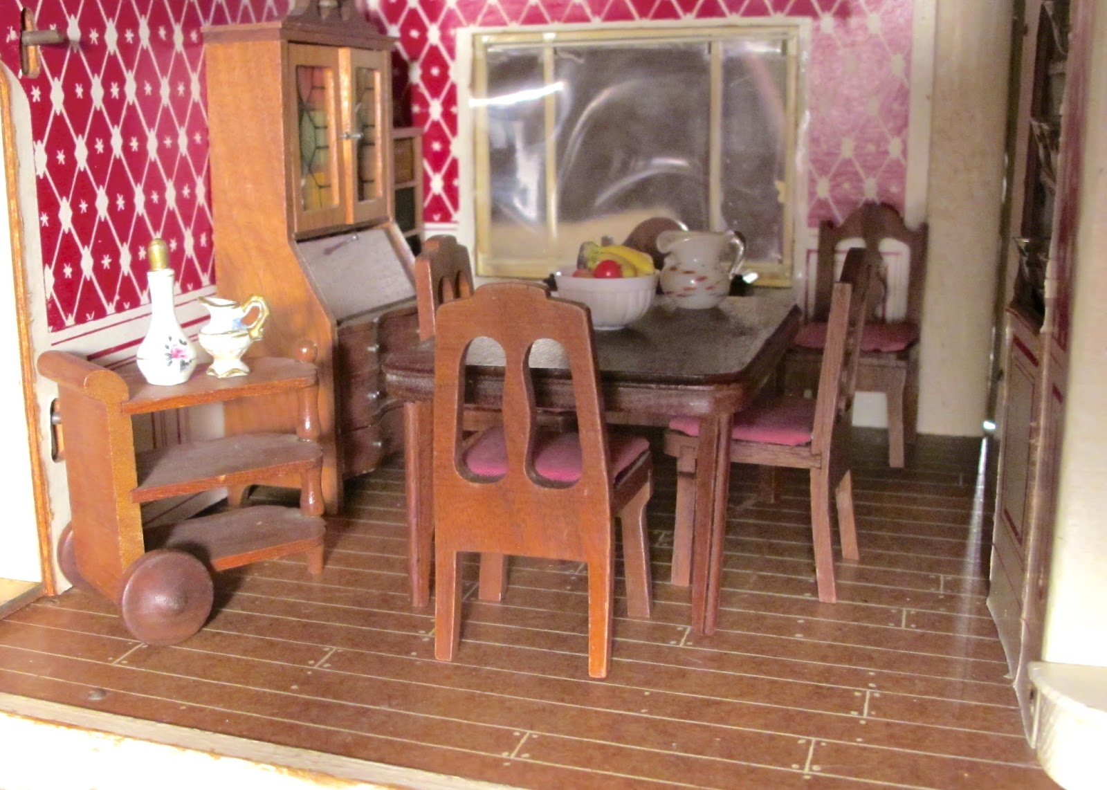 Dining-room with Strombecker furniture